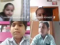 Students of grade 3rd at STS World school