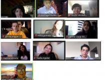 My classroom, mexican highschool students