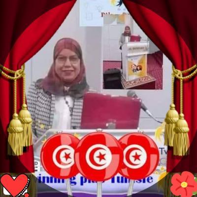 Hedia Riahi professeur principal émérite de français.collège Menzel Abderahmen Bizerte Tunisie
