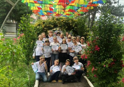 Ecaterina Teodoroiu, 4th grade
