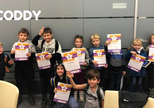 CODDY - one of the first programming schools for children in Russia