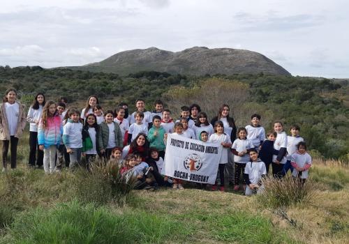 Grupo roots&shoots Tras las huellas del venado