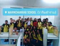 Warinchamrap School's students