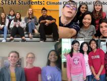 4 teams contibuting to climate change awareness