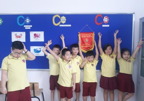 Class 3A1 Vietnam International School, Hanoi, VN