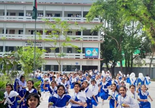 Jashore Government Girls'High School, Bangladesh.