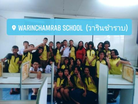 Warinchamrap School's students
