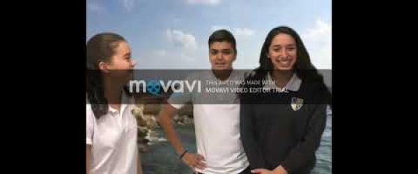 Embedded thumbnail for Climate Action Project-Week1-STEM 3E-The Grammar School, Nicosia (Cyprus)
