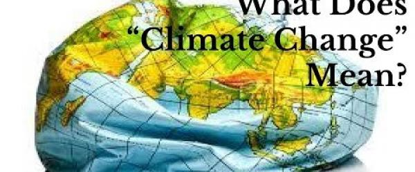 "Embedded thumbnail for What Does the term ""climate change"" mean?"