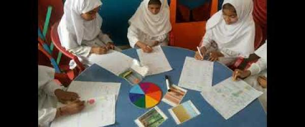 Embedded thumbnail for Week 3.Students of Government Girls High School Junior Model Khan pur, District Rahim Yar Khan ,working on climate action project .