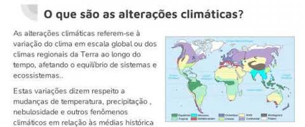 Embedded thumbnail for O que são as  alterações climáticas e porque acontecem?