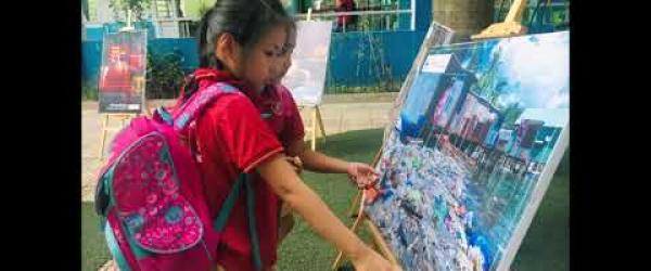 Embedded thumbnail for Hanoi Thanglong school - Week 4 Climate Change Project 2019