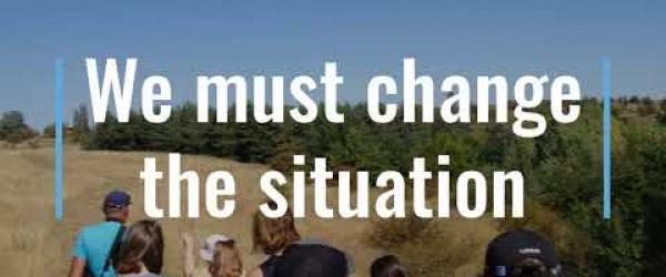 Embedded thumbnail for Let's start changing the situation.