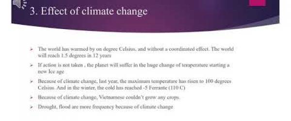 Embedded thumbnail for Effects of climate change in Vietnam