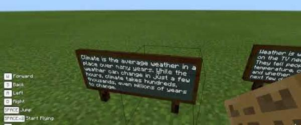 Embedded thumbnail for The Climate Action project with Minecraft