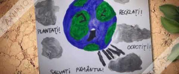 Embedded thumbnail for Children message for slowing the global warming