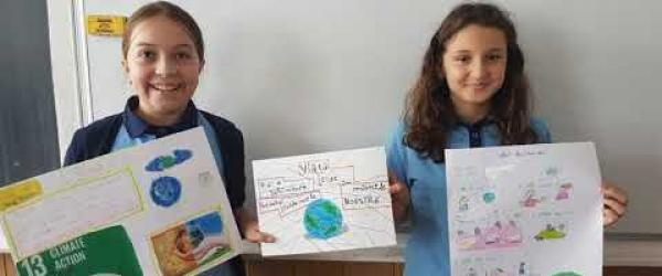 Embedded thumbnail for Taking action on climate change -Oltea Doamna School Romania